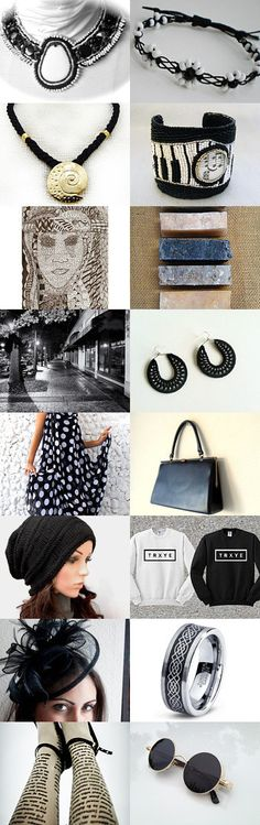 Absolute Elegance by Jo Stamatakis on Etsy--Pinned with TreasuryPin.com #blackandwhitegifts