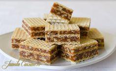 Napolitane cu caramel si nuca – reteta video