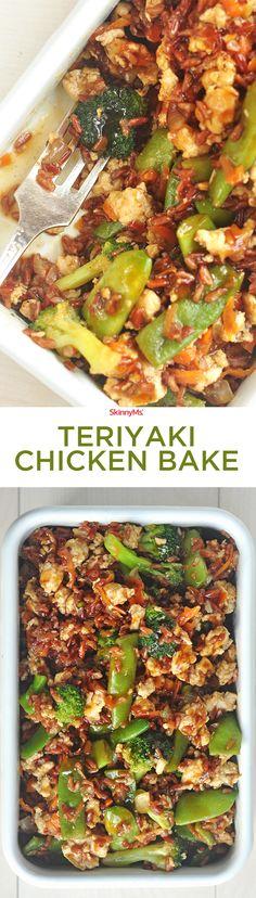 Teriyaki Chicken Bake! :) #skinnyms #cleaneating