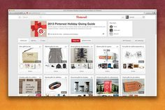 The Pinterest Holiday Giving Guide is here!, via the Official Pinterest Blog