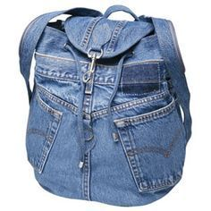 how to make backpack from jeans - Google Search