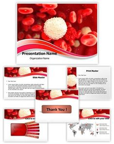 Public health powerpoint template is a free template for health white blood cell powerpoint presentation template is one of the best medical powerpoint templates by editabletemplates pronofoot35fo Gallery