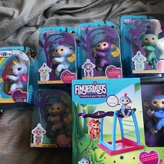 My daughter and nieces all get these bad boys for Christmas.  NFS.  Hopefully they enjoy.  #fingerlings