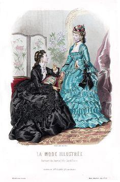 1872 La Mode Illustrée
