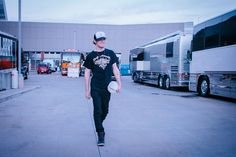 Tucker Beathard Hits the Road With Brantley Gilbert on the 2017 Devil Don't Sleep Tour [Exclusive Pictures]