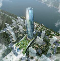 New City Flower in Shenyang by UA studio 7