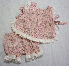 Isabelle Baby Set  with lace trim by Felicity Sewing Patterns http://www.felicitysewingpatterns.com/product/new-isabelle-baby-set-baby-girl-sewing-pattern-fit-3-months-4-years
