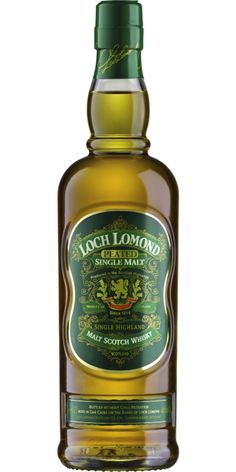 Loch Lomond Peated Single Malt.