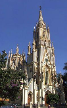 Church of Our Lady of Lourdes, (Basílica Nossa Senhora de Lourdes, Belo Horizonte), Brazil