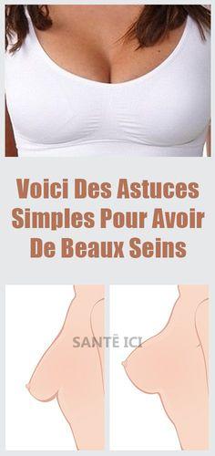 Faites cela au moins une fois par semaine pour avoir de beaux seins #seins #poitrine