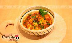 Gulas cu galuste Chana Masala, Thai Red Curry, Ethnic Recipes, Food, Essen, Meals, Yemek, Eten