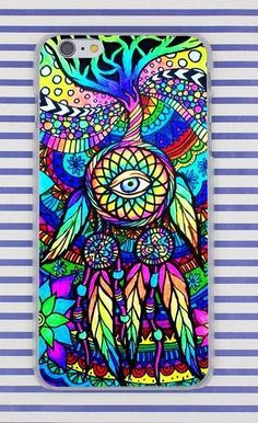 Psychedelic Art Peace Phone Cases for iPhone X / 8 / 7 / 6 / 5 – SaviCat