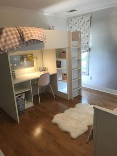 30 Relaxing Small Loft Bedroom Designs Modern Trends In Home Interior Design Have Emphasized The Effective Utilization Of Space This Is Most Important As The Value Of Real Estate Is Skyroc Design Ikea, Bed Design, Stuva Loft Bed, Loft Beds, Ikea Stuva Bed, Loft Bed Desk, Small Loft Bedroom, Teen Loft Bedrooms, Ikea Girls Bedroom