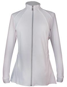 If you're in the market for some new outfits, consider our women's apparel! Shop this comfortable and stylish STAPLES (Assorted Colors) Sofibella Ladies Pleated Golf Jackets from Lori's Golf Shoppe.