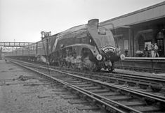 LCGB The Mallard Commemorative Rail Tour (Silver Jubilee Special 1938 - From Kings Cross to York via Cambridge, Ely and Lincoln. Diesel Locomotive, Steam Locomotive, Lincoln England, Steam Trains Uk, Steam Railway, Steam Engine, British, Around The Worlds, Tours
