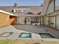Wood Architecture, Beautiful Architecture, Residential Architecture, Style At Home, Rural House, Church Design, House Roof, House Layouts, House Goals