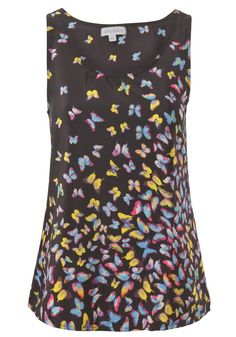 $14 Influence Butterfly print vest top
