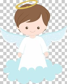 Easter Bunny Template, Angel Wings Drawing, Baptism Party Decorations, Angel Illustration, Paper Child, Baby Baptism, First Communion, Clip Art, Kitty