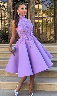 shorp prom dresses,short homecoming dresses,purple homecoming dresses,unique prom dresses @simpledress2480