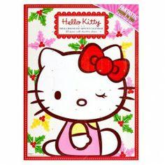 Sanrio Japan Hello Kitty Cute Model Memo Pad (D) 2007 Kawaii Christmas On A Budget, Christmas Countdown, Hello Kitty Photos, It's A Wonderful Day, Letter Set, Sanrio Characters, Sanrio Hello Kitty, Squishies, Christmas Inspiration