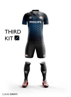 I designed football kits for PSV for the upcoming season 16/17.