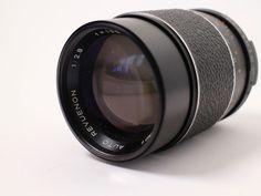REVUE Objektiv 1: 2.8 f 135 mm M42 Adapter universal SLR analog Antik Vintage in Foto & Camcorder, Photographica, Objektive | eBay