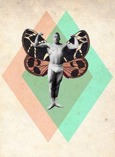 #Collage #vintage #retro by Julia Geiser