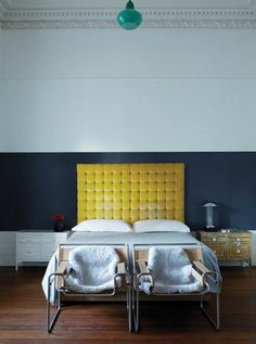 Bedroom. Photo via Plascon's 2013 Colour Forecast.