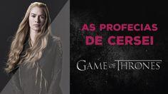 GAME OF THRONES | Teorias para quem não leu os livros: CERSEI LANNISTER  Ama Game of Thrones e quer entender mais o que está acontecendo na série e nos livros? Vem ver o vídeo com as Profecias de Cersei Lannister!