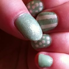 My nails. #mint