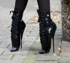 Lace High Heels, Very High Heels, High Heels Stilettos, High Heel Boots, Womens High Heels, Heeled Boots, Cute Boots, Sexy Boots, Sexy Heels