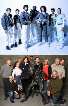 Aliens: 1986 Vs. 2014 it came FROM SPACE. thegeeteredcoffeeFIEND.