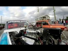 Straight Axle Gasser Drag Car Ride Along: Gasser Drag Racing Straight Ax...