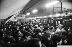 Aglomeraciones en el metro madrid