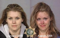 using meth, heroin or cocaine.