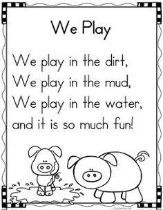 Poetry Shared Reading in Kindergarten