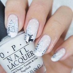 Christmas nail art design,winter nail art design,winter nail ideas