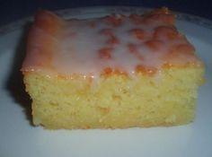 Best Lemon Sheet Cake ~ MOIST too, serve warm,Best Lemon Sheet CakeIngredients 1 duncan hines moist deluxe lemon cake mix 1 c buttermilk 1 3oz. lemon instant pudding mix (dry) ICING~ 4 cups confectioner's sugar 1/3 cups bottled lemon juice 3 Tbsp vegetable oil 3 Tbsp water
