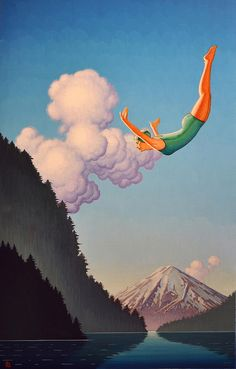 Diving by Robert LaDuke, via Flickr