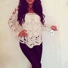 Laced Long Sleeved Shirt Pictures, Photos, and Images for Facebook, Tumblr, Pinterest, and Twitter