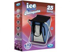 Cooler 24 Latas - Mor Banqueta com as melhores condições você encontra no Magazine Tonyroma. Confira!
