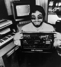 Woz, created the hardware that launched Apple inc. Genius.