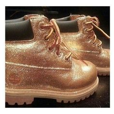 Custom Timberlands ❤ liked on Polyvore