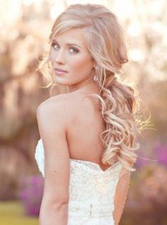 trending elegant wedding hair down for 2013 brides