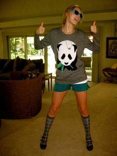 Taylor Swift and Topshop Panda Jumper Photograph