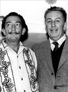 Salvador Dalí and Walt Disney #fuckyes