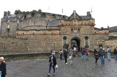 Gate of Edinburgh Castle