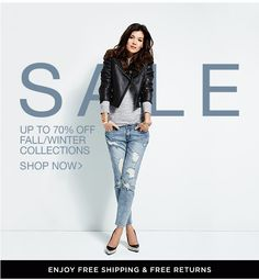 """Shopbop Sale Email Design"" www.datemailman.com"