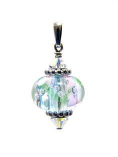 Omnipot Furnace -- ヴァレリー(1) プロミエ Lampwork Beads, Christmas Bulbs, Holiday Decor, Christmas Light Bulbs