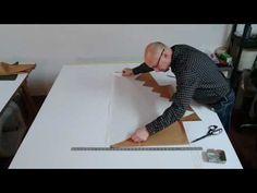 Alternative ways of cutting a swag valance - YouTube